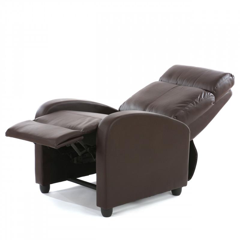 Fauteuil de relaxation marron fulbert