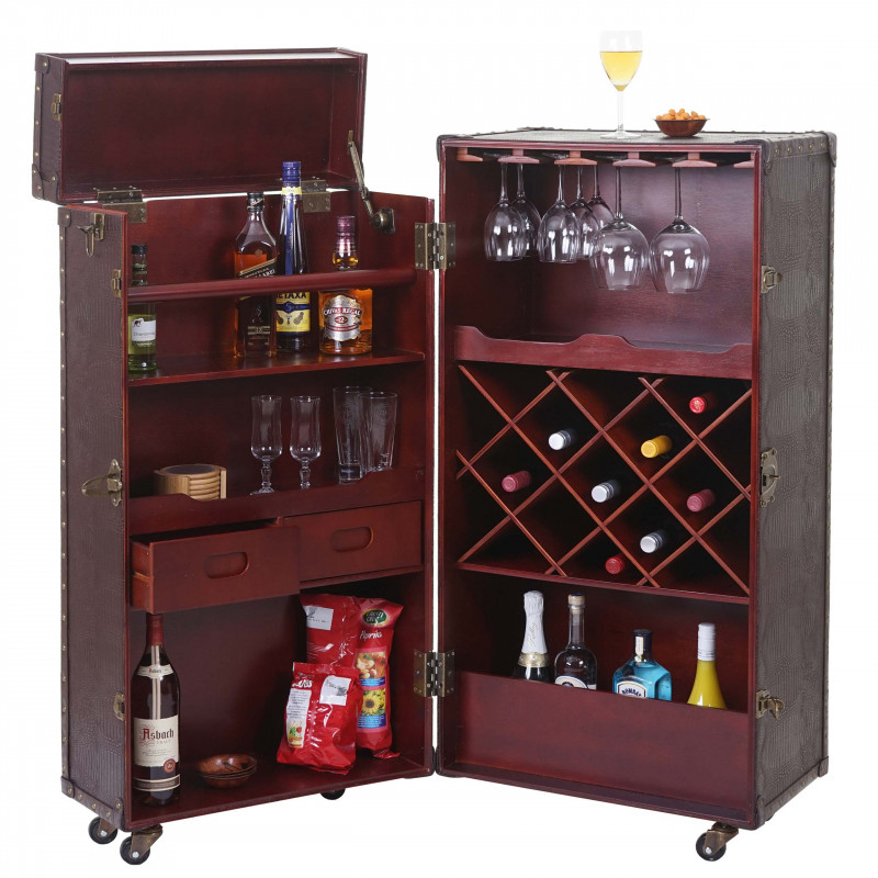 Armoire bar/casier à vin maison de bar lyon