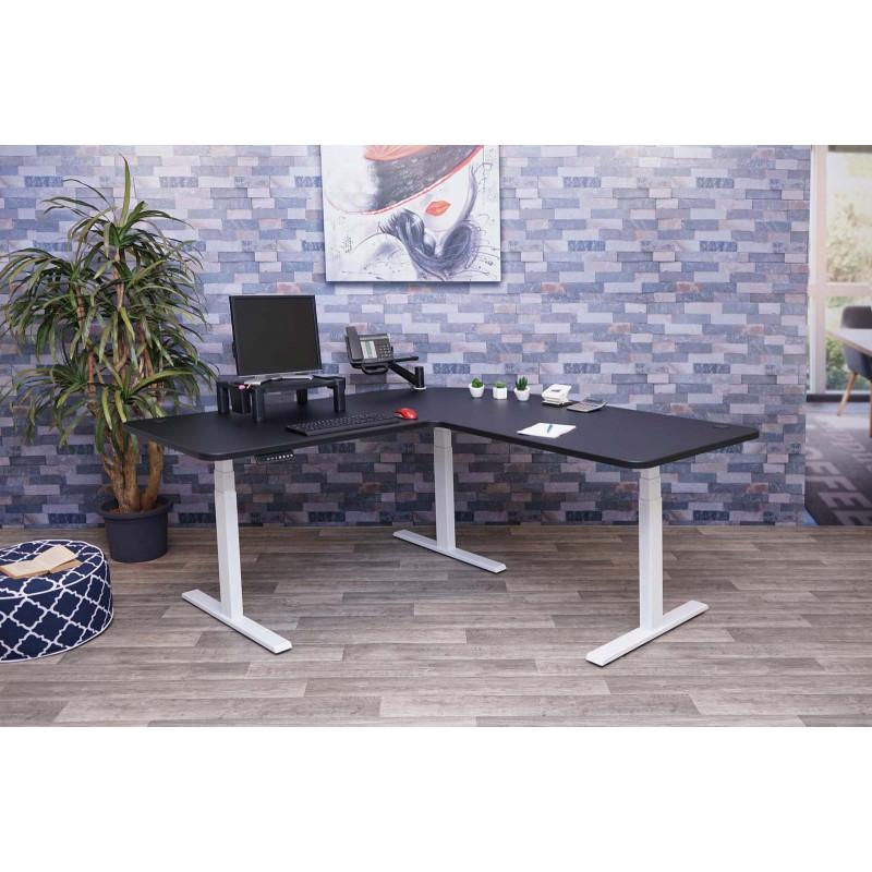 Bureau d'ordinateur memory - noir, blanc