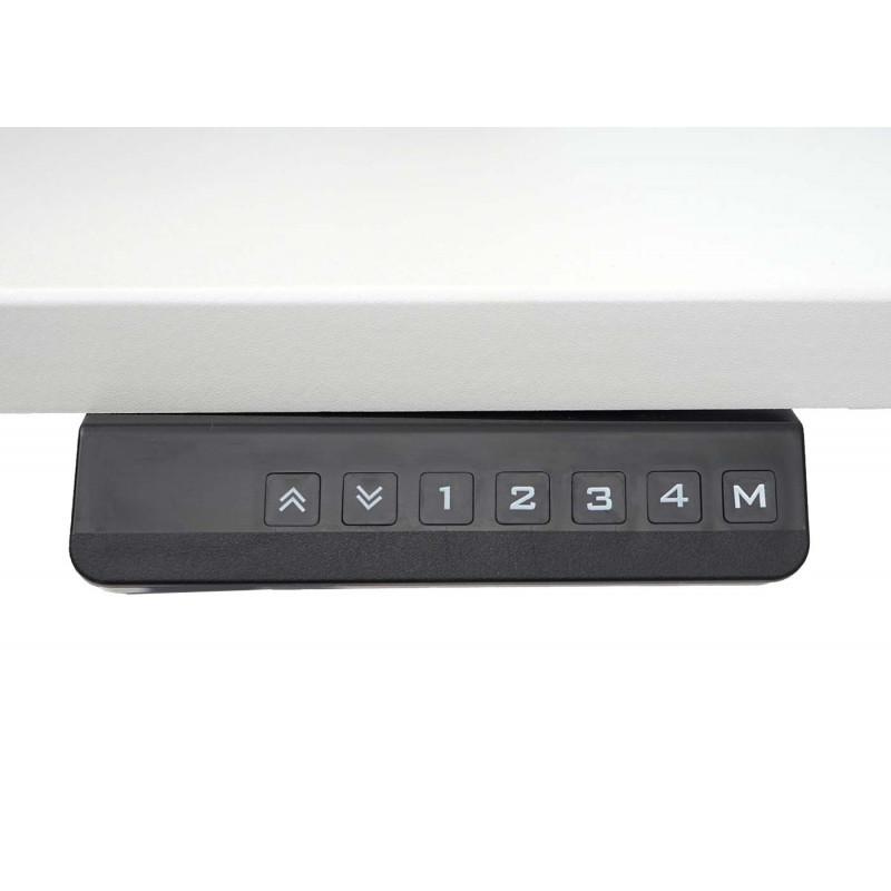 Cadre de table à hauteur variable axen pour bureau noir
