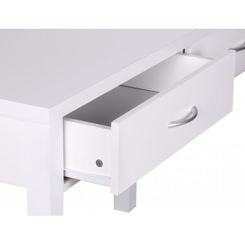 Table de bureau christine a deux tiroirs