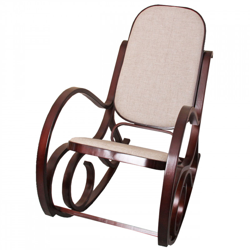 Rocking chair maria en bois