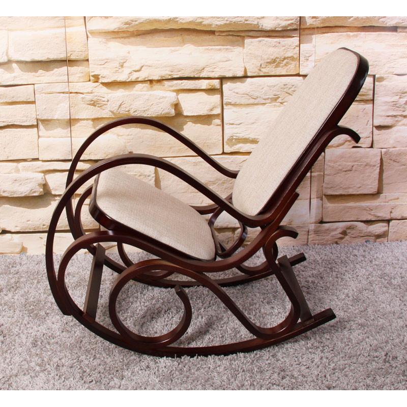 Rocking chair maria en bois