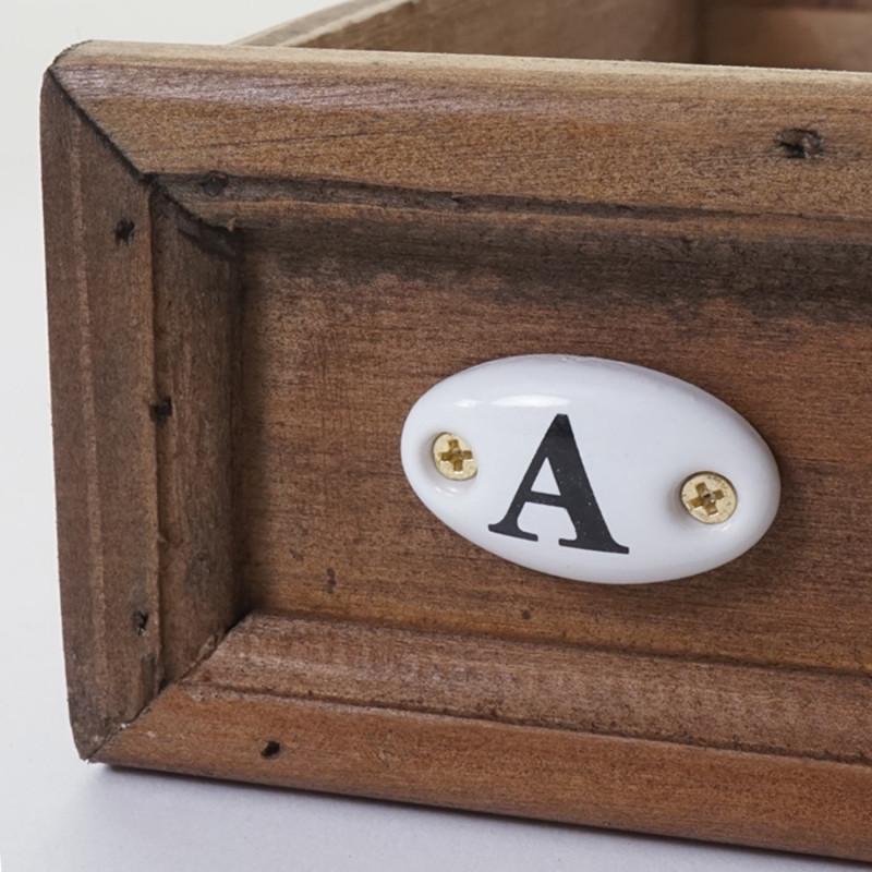 Cabinet d'apothicaire paulette vintage