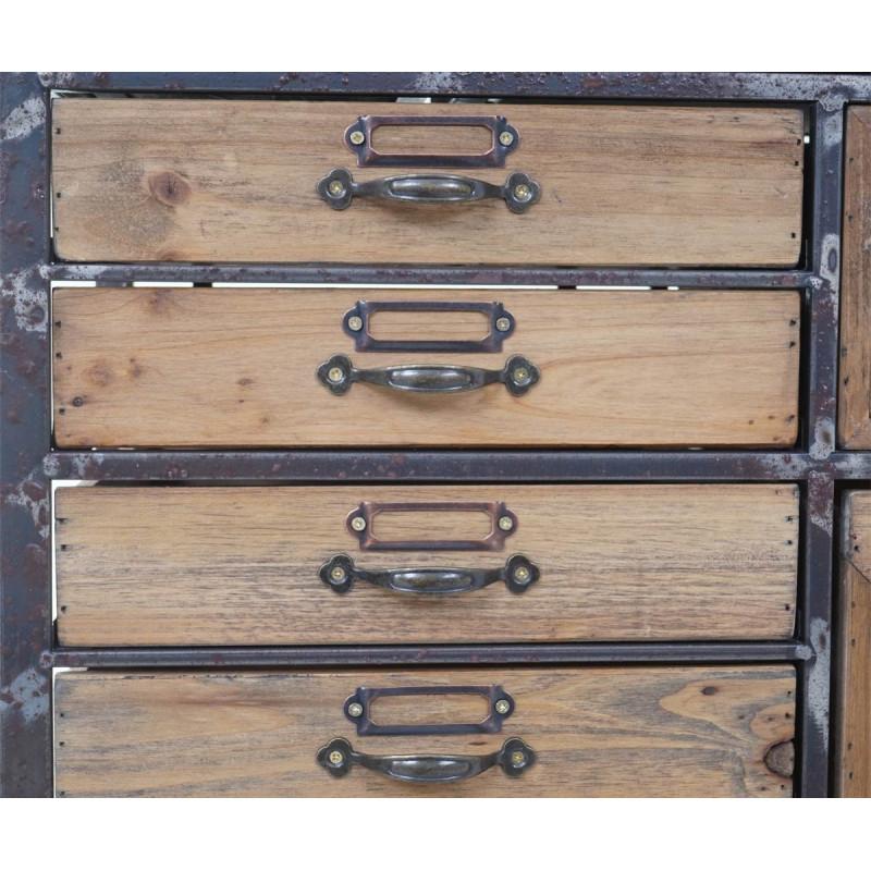 Armoire d'apothicaire gontrand vintage