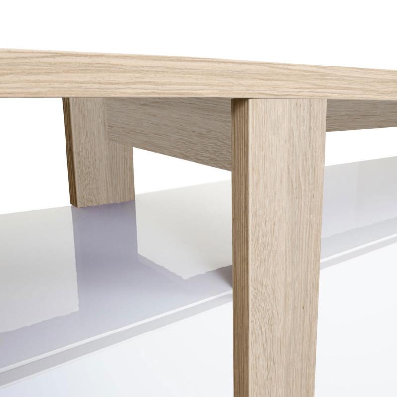 Buffet haut avec structure 3d aspect chêne fancy
