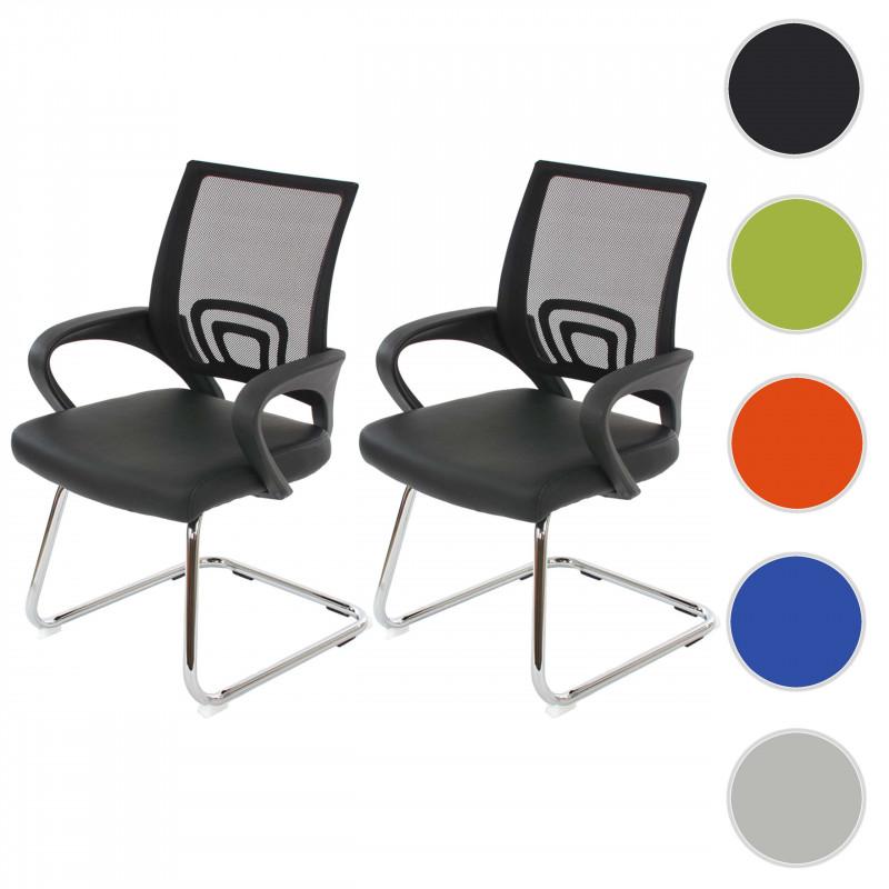 Chaise de conférence dubois noir