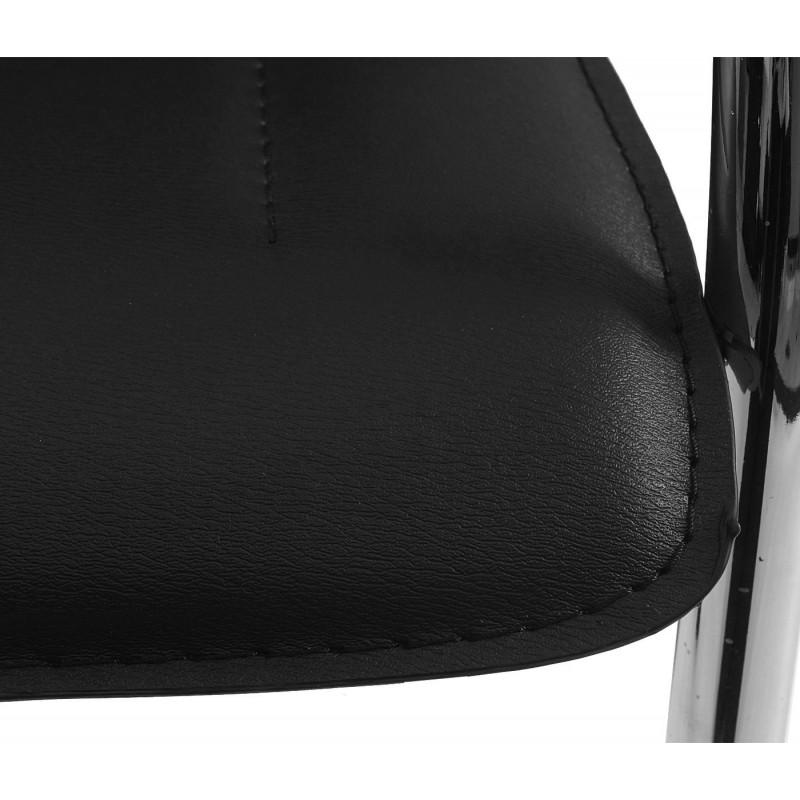 Paire de chaise de conférence nina noir