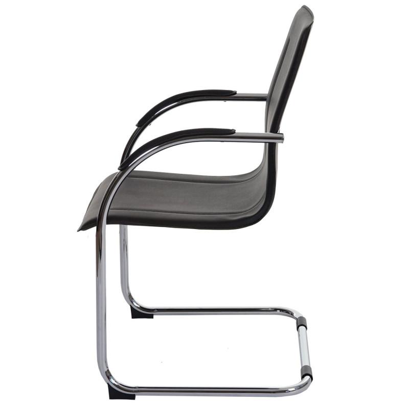 Paire de chaise de conférence stella brun