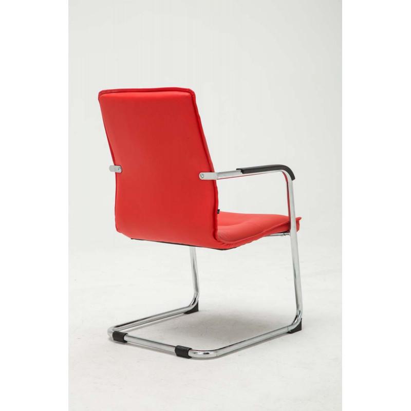 Chaise de conférence dora rouge
