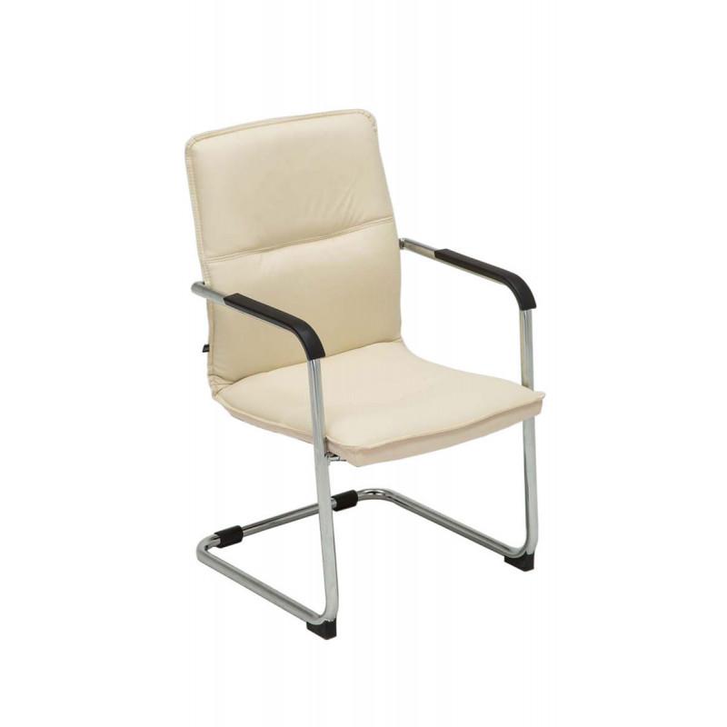 Chaise de conférence ornalia crème