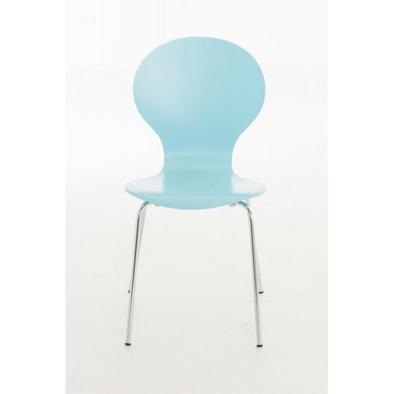 Chaise de conférence fullrelax, modèle bleu clair