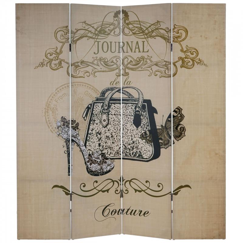 """Photo paravent boudoir """"michaelangelo"""" 180x160cm"""
