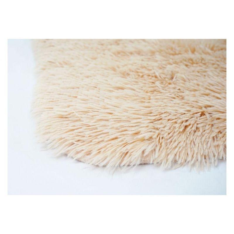 Tapis lena brun clair