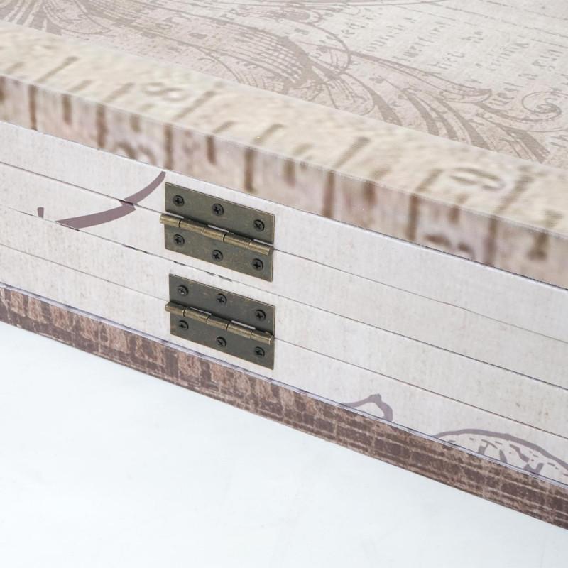 Paravent vintage & paillettes mode rétro ~ 180x240cm