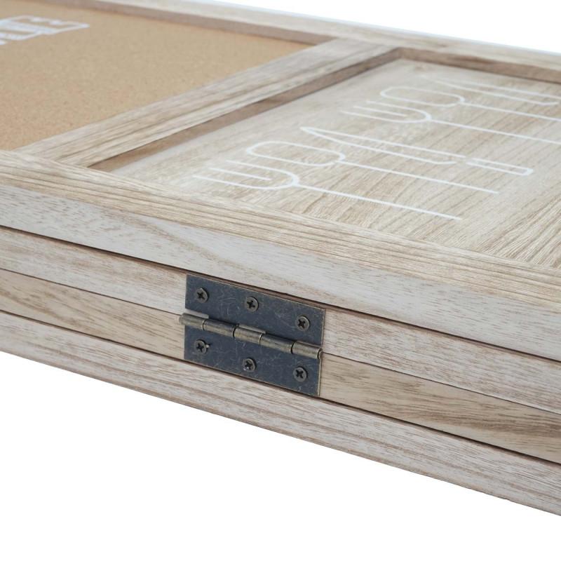 Cloison de séparation à 4 panneaux woods paravent