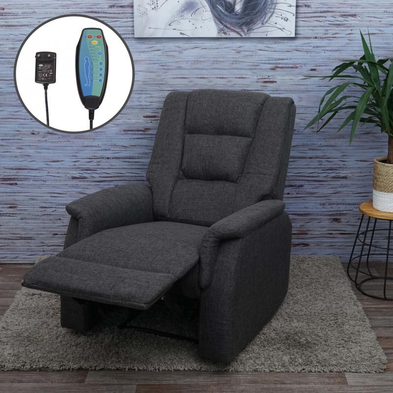Fauteuil relax cozy avec fonction de massage et de réchauffement