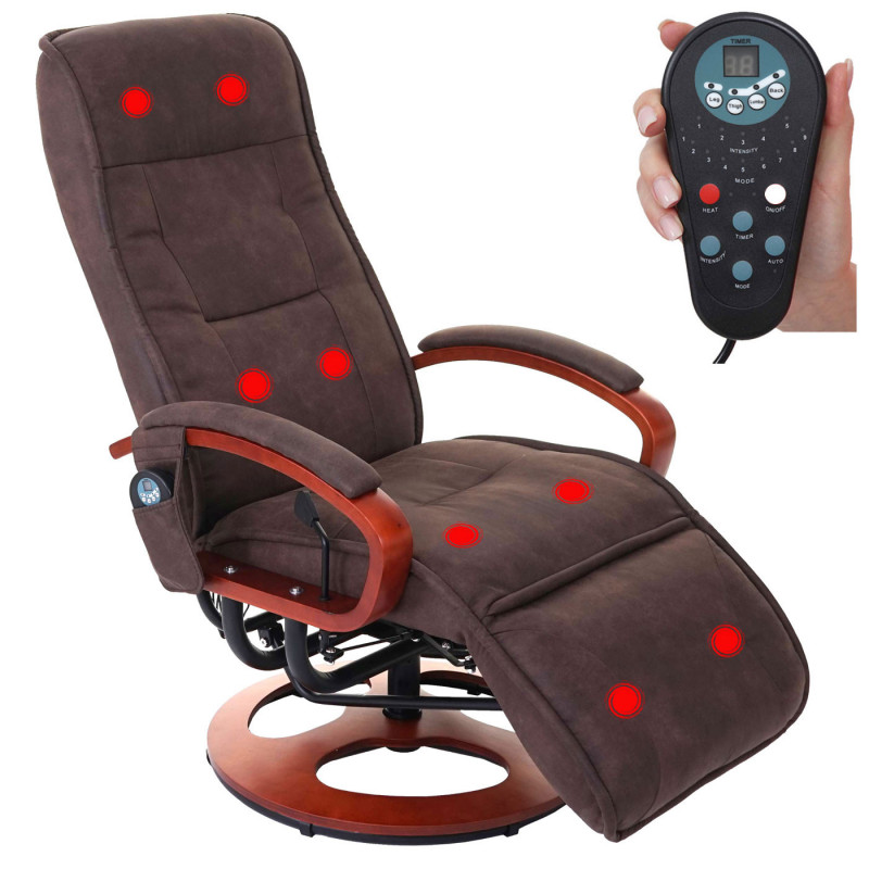 Fauteuil de massage anromede brun