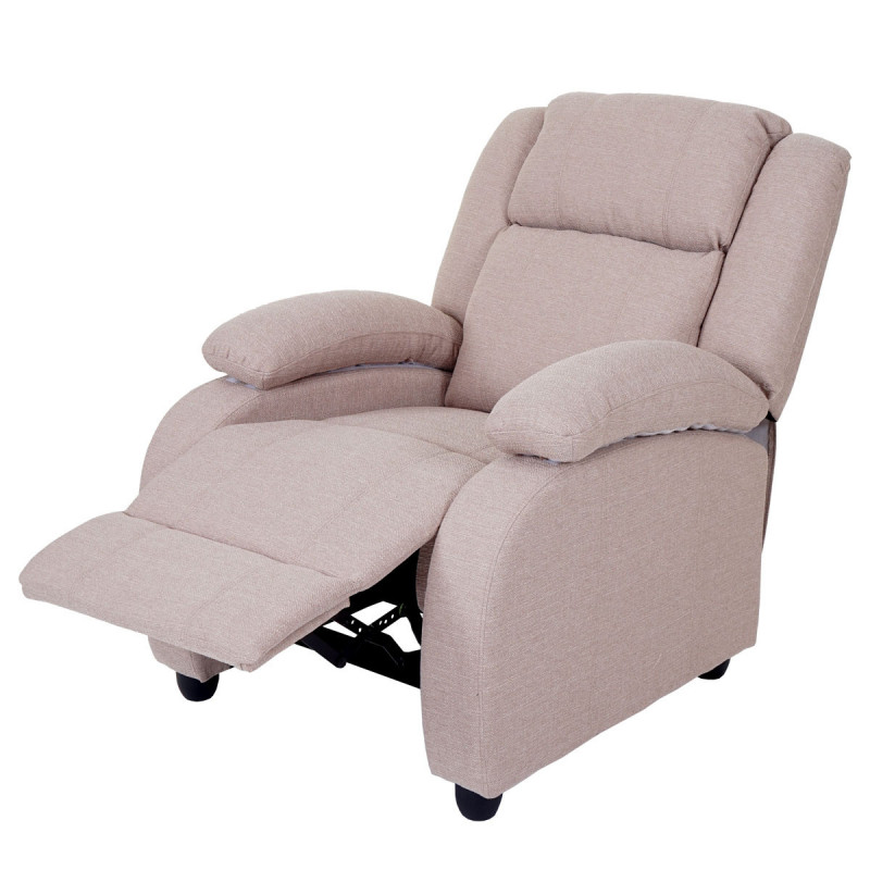 Fauteuil tv repliable sweet blanc